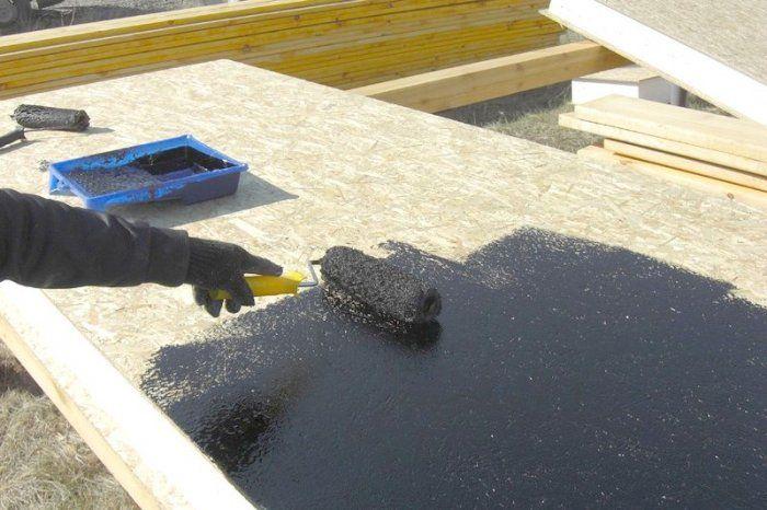 Обработка бетона битумом купить столбы из бетона в кирове