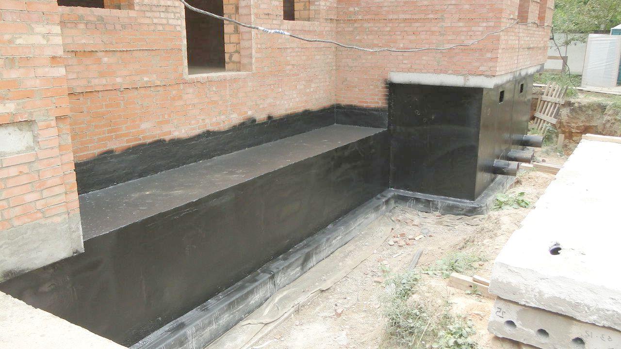 Гидроизоляция фундамент цементный раствор панели из керамзитобетона для строительства дома